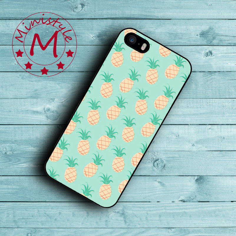Cartoon Pineapple Case for iPhone 7 7 Plus Cover