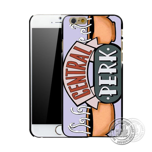 Friends Tv Show Central Perk Phone Cover Case For Apple iPhone 7 7 Plus Mobile Cover