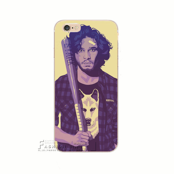Era Characters Jon Snow Hard Case Cover For Apple iPhone 7 7 Plus