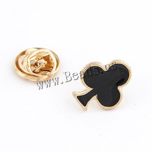 12mm Poker Collar Brooch Enamel Pin