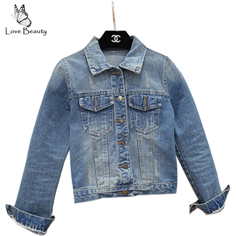 Denim Jackets Outerwear Classical Women Jackets