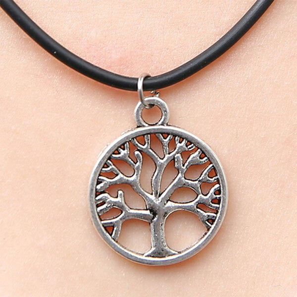 Anchor Choker Yin Yang Anchor Tree of Life Fine Triangle Jewelry