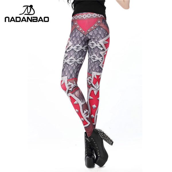 "New Arrival Sport Leggins Wow Legins World of ""Horde"" Printed Women Leggings"