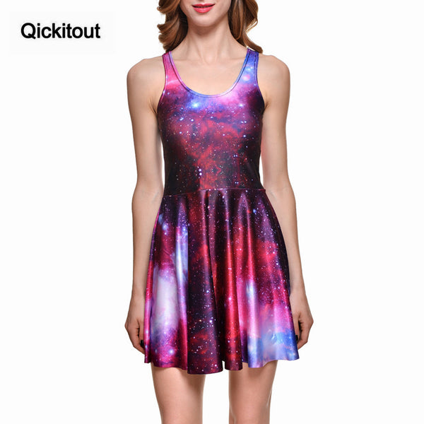 New Sexy Women Dress Cartoon Adventure Time Dress Bro Ball Reversible Skater Dress Pleated Sun