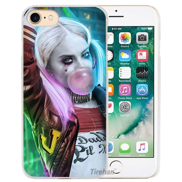BiNFUL Harley Quinn Suicide Squad Hard Transparent Phone Case Cover Co –  Intel Retro bbd106c0db0b
