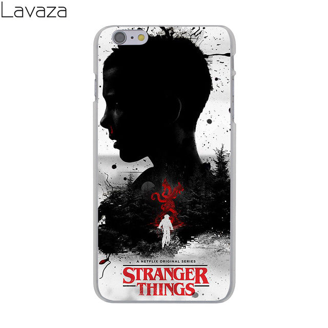 new style 3576a 288e4 Lavaza Stranger Things tv series Hard Cover Case for Apple iPhone 8 7 6 6S  Plus 5 5S SE 5C 4 4S X 10 Coque Shell