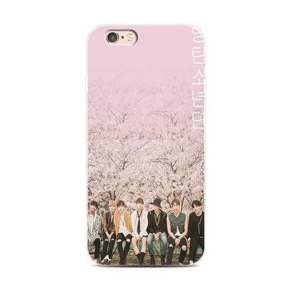 Bangtan Boys BTS youth phone case for iPhone 7 plus 4 4s 5 5s 5c se 6 6s iPhone7 for Samsung S5 S4 S6 S7 S7edge 6 s 5 s cover