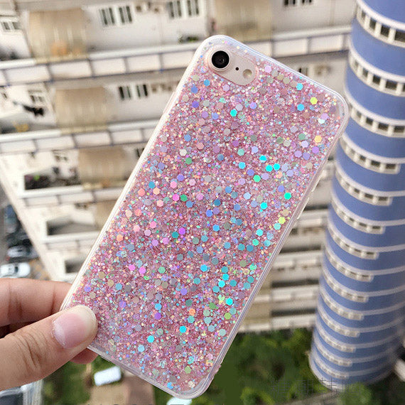 iPhone 6 & 6S Powder Glitter Cover