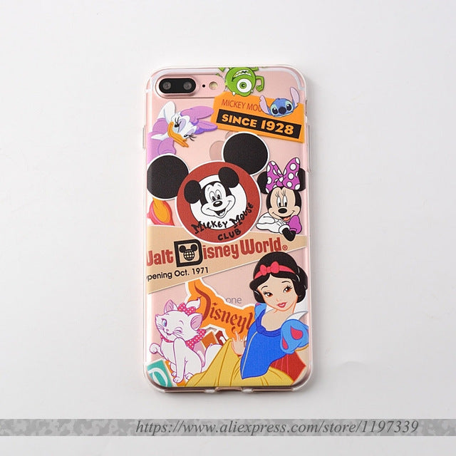 coque minnie galaxy s6 edge