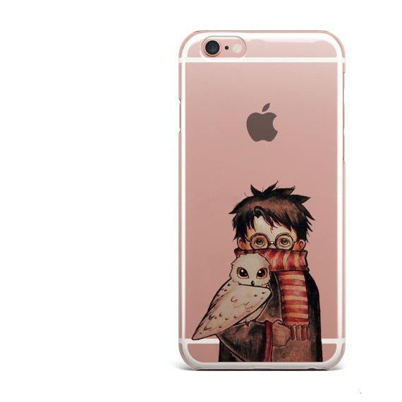 Owl Harry Potter Book marks Coque for iphone 6 6S 7 Plus 5 5S SE ...