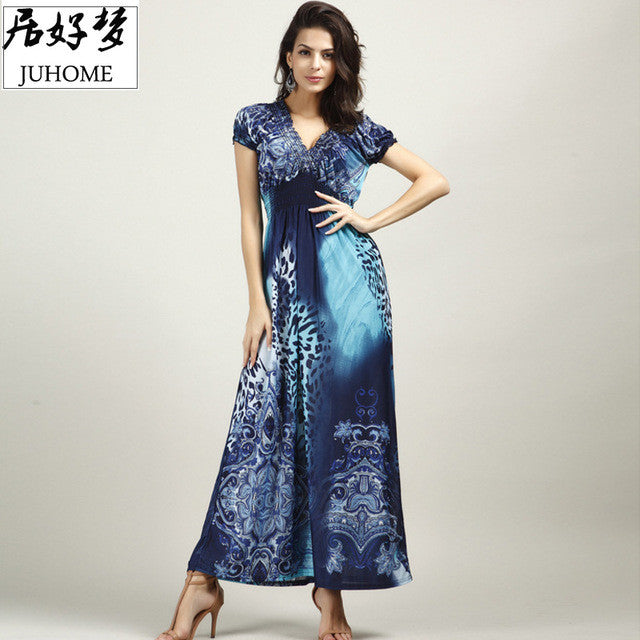 4XL 5XL big size large size plus size women clothing Sexy maxi long summer dress tunic sundresses Boho beach Wear Bohemian tube