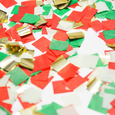 Christmas Party Confetti Pop