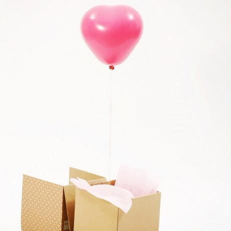 Pink Heart Mini Balloon