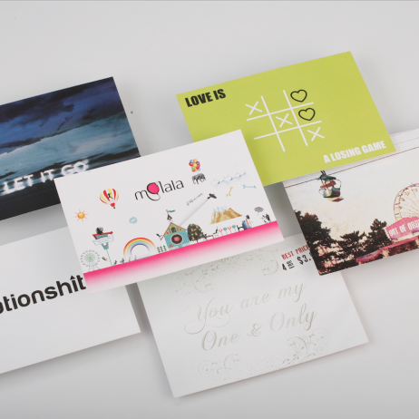 HeTox Collection Postcards (6PC)