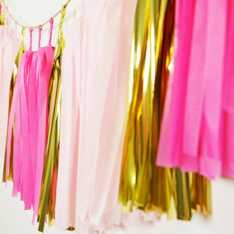 Flamingo Tassel Garland