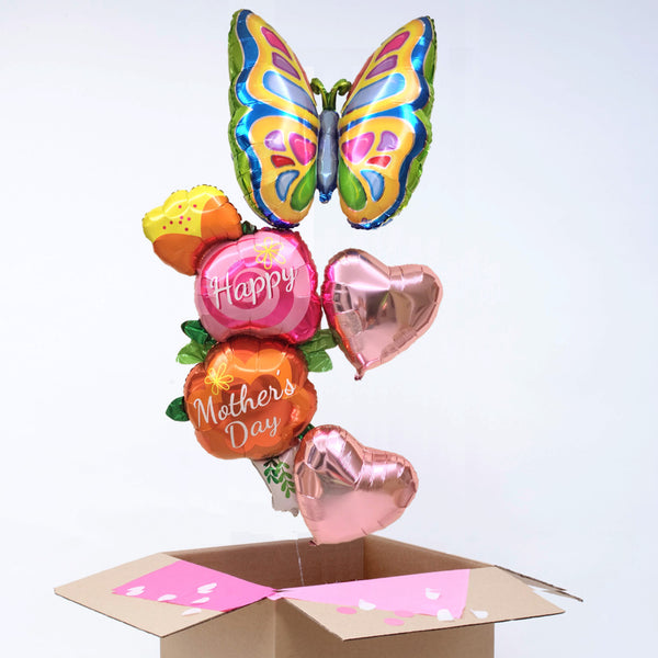 Mother's Day Butterfly Giant Balloon Bouquet