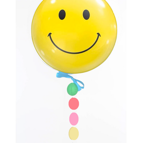 Smiley Bubble Balloon
