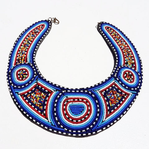 Mosaic Statement Necklace - Tausii