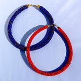 Masai Inspired Beaded Necklace - Tausii