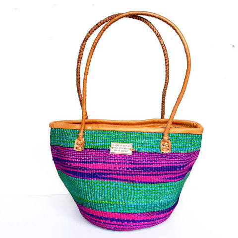 Mermaid Kiondo Handbag - Tausii