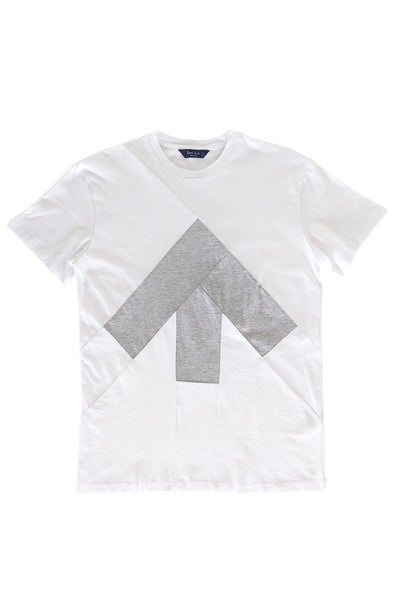 Up-shirt for men | White, grey