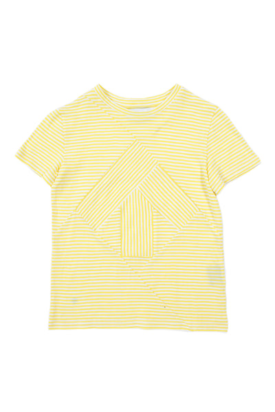 Up-shirt for kids | Yellow striped