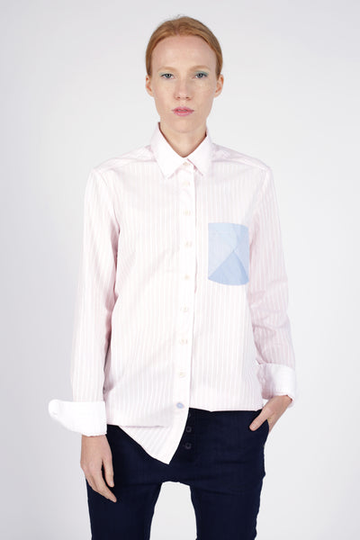 Aus/Sangar shirt for women | Light pink