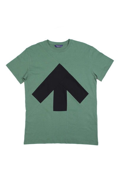 Up-shirt for men | Green, black