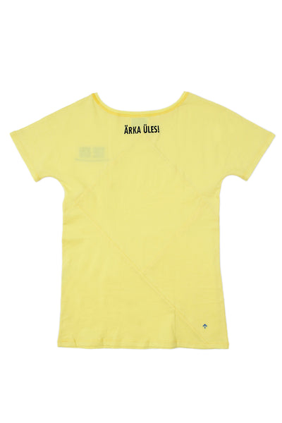 Up-shirt for women - The Kid | Yellow