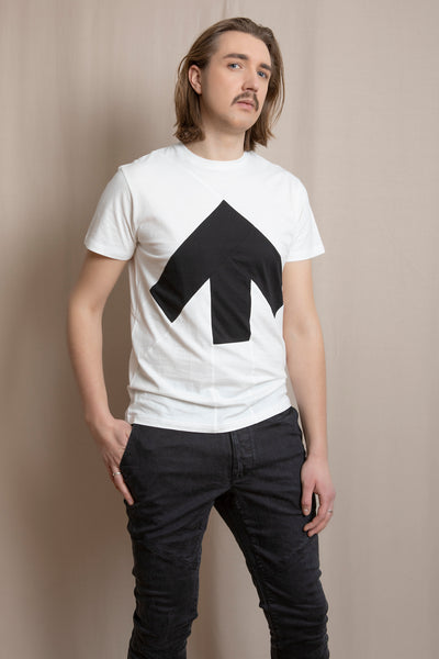 Up-shirt for men | White, black