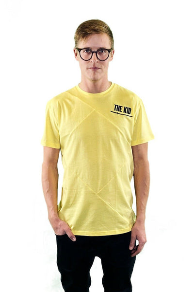 Up-Shirt for Men: The Kid / Yellow
