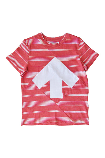 Up-shirt for kids | Red, white