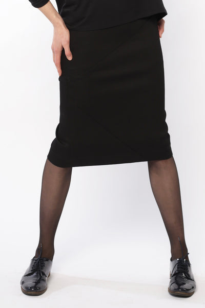 Over knee pencil skirt | Black