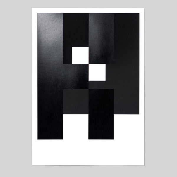 Black Edition Art Print<br> LIMITED EDITION screen print