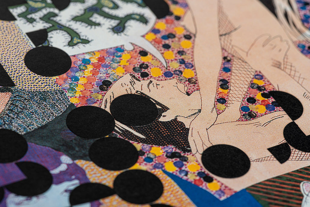 Mark Gowing <br> Cut Dots work 9