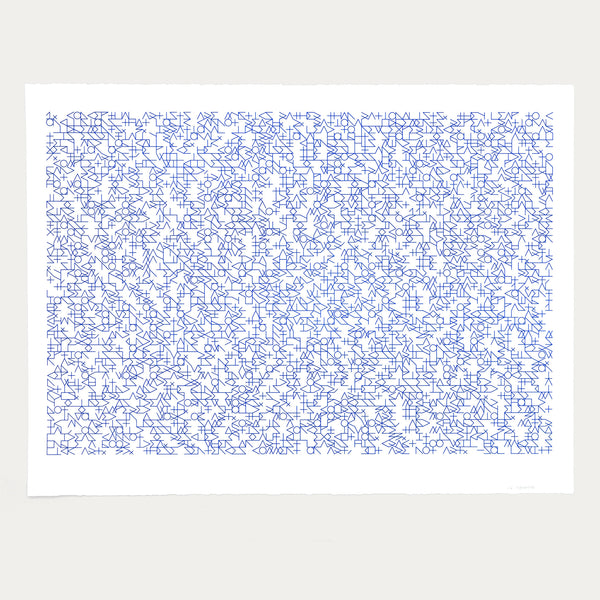 Mark Gowing 'Sentences' <br>LIMITED EDITION lithograph