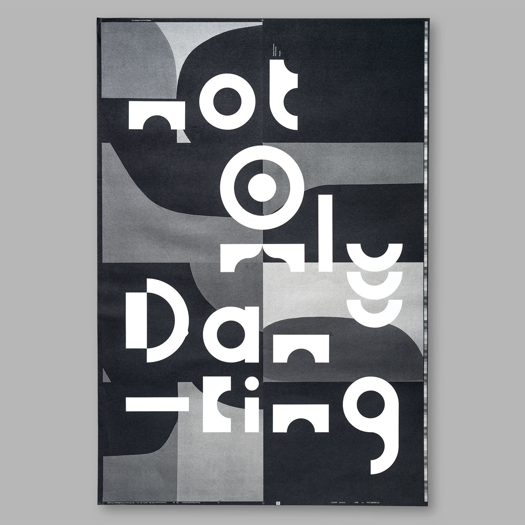 Only Dancing Improvised Posters <br>LIMITED EDITIONS