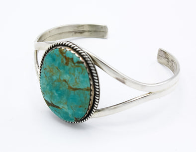Tyrone Turquoise Sterling Cuff