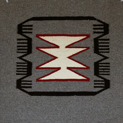 "Nature's Balance | Navajo Rug 21""x21"" - turkoi, Native American Jewelry, arts and crafts"