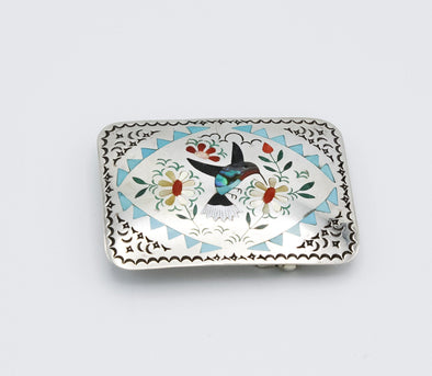 Humming Bird Belt Buckle