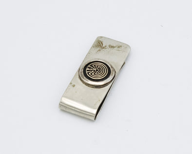 Man In Maze Money Clip