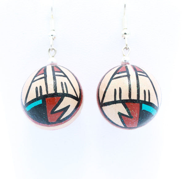 Native American Pottery Earrings