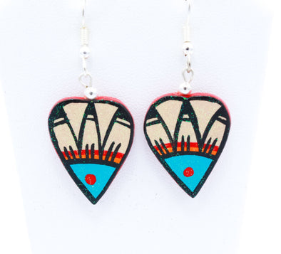 Native American Pottery Earrings Ii