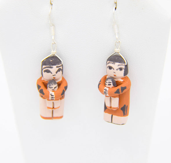 Santa Domingo Pottery Earrings