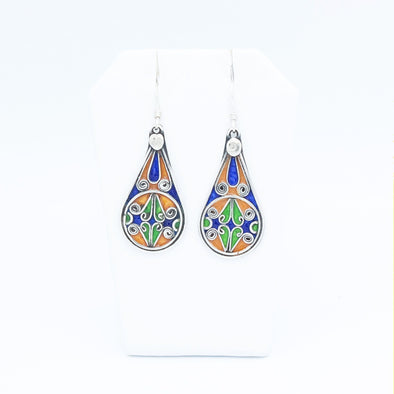 Multicolor Berber Earrings