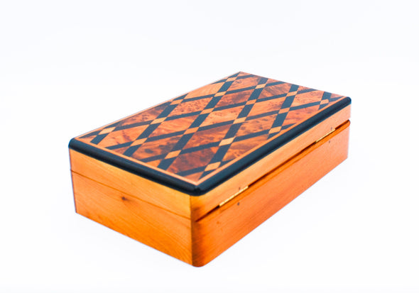 Inlaid Wood Box