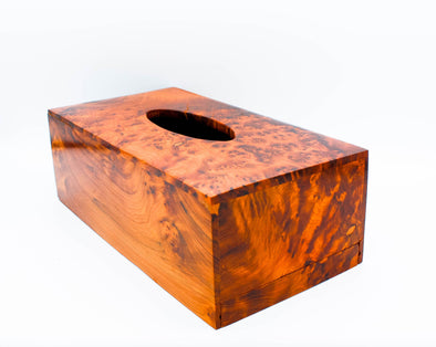 Handmade Wooden Tissue Box