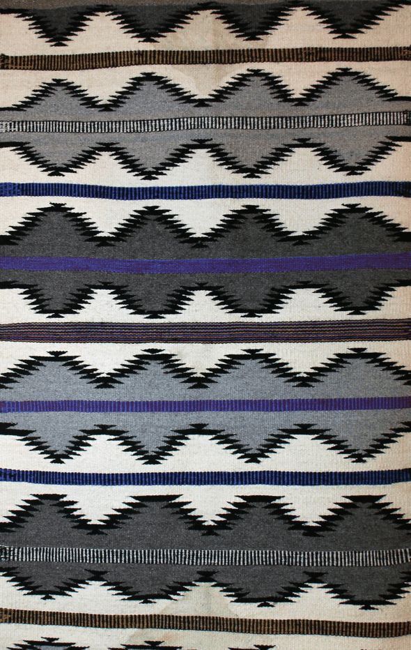 "The Lazy Hunter | Navajo Rug 29""x49"" - turkoi, Native American Jewelry, arts and crafts"