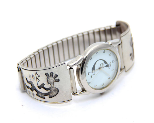 Kokopelli Silver Watch