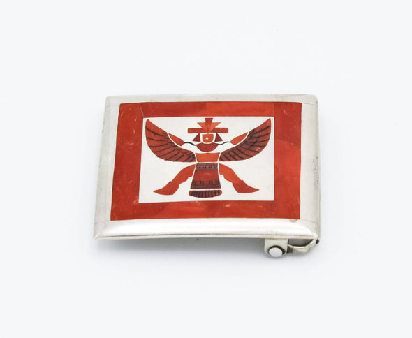 Zuni Knifewing Belt Buckle